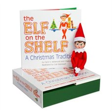 The Elf on the Shelf – Tricotin le Lutin